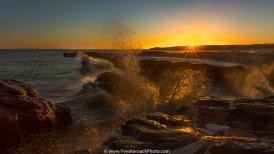 Coucher de soleil à l'Île Boudreau