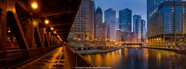 Chicago vu du pont William P. Fahey