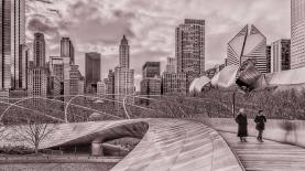 Chicago vu de la passerelle BP