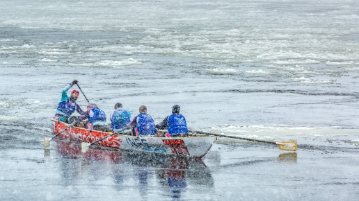 Défi canots à glace Montréal 2017