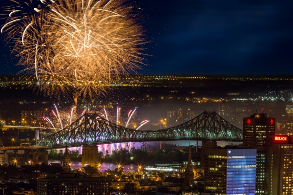 Internationale des feux Loto-Québec à Montréal