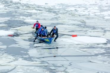 Défi canots à glace Montréal 2018