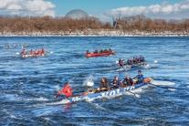Défi canots à glace Montréal 2014