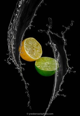 Éclaboussage d'agrumes / Citrus splash
