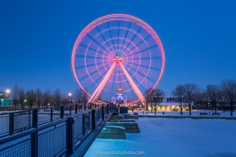 La grande roue de Montréal