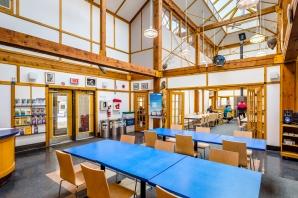 Pointe-aux-prairies - Pavillon d'accueil intérieur