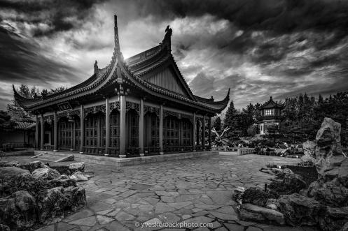 Pavillon du dragon caché, Jardin Botanique de Montréal
