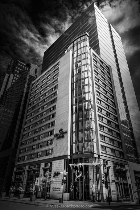 L'hôtel Le St-Martin à Montréal